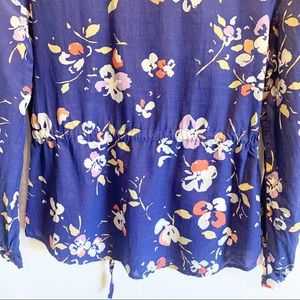 Merona Tops - Merona Button Down Floral Top size M